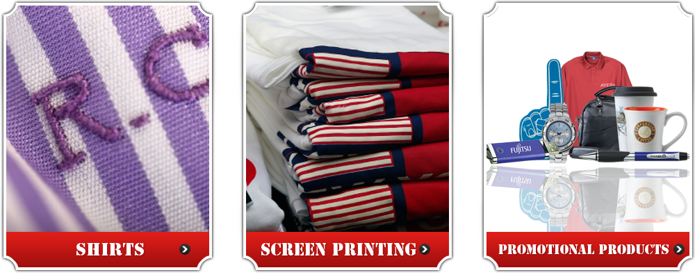 Shirts, Screen Printing, Promotional Products
